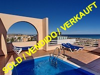 Bargain: penthouse apartment with private pool on Oliva Nova Golf Resort