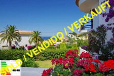 Beachfront apartment in Denia, Las Rotas