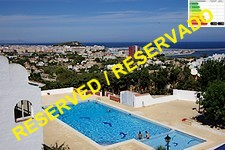 terraced house with sea view in denia