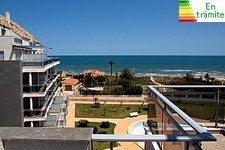 frontline beach penthouse in denia