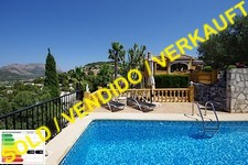 villa on La Sella Golf with stunning sea view