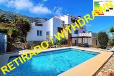 Grosse Villa mit Pool und Meerblick in Denia