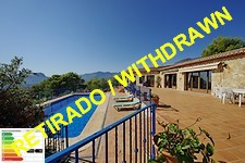 Finca with panoramic views in Benissa