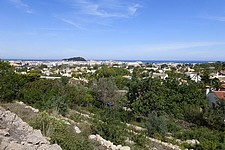 Building plot with sea view in denia