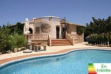 denia villa with pool