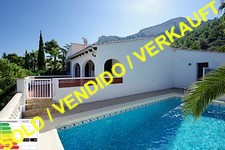 Meerblickvilla mit Pool in Denia
