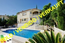 Sea view villa in Orba Valley