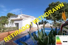 sea view villa with pool in denia