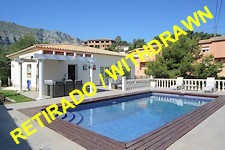 denia: attractive sea view villa in sought-after location