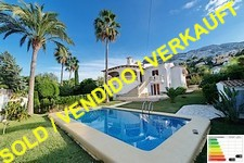large villa with guest apartment in Denia