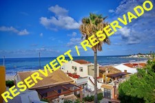 frontline beach townhouse in Denia