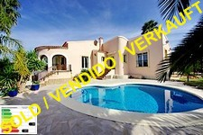 Villa with pool in denia