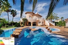 Luxury villa in Oliva Nova Golf Resort