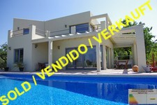 Denia: modern villa near La Sella Golf Resort