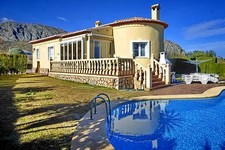 nice villa with pool in Beniarbeig